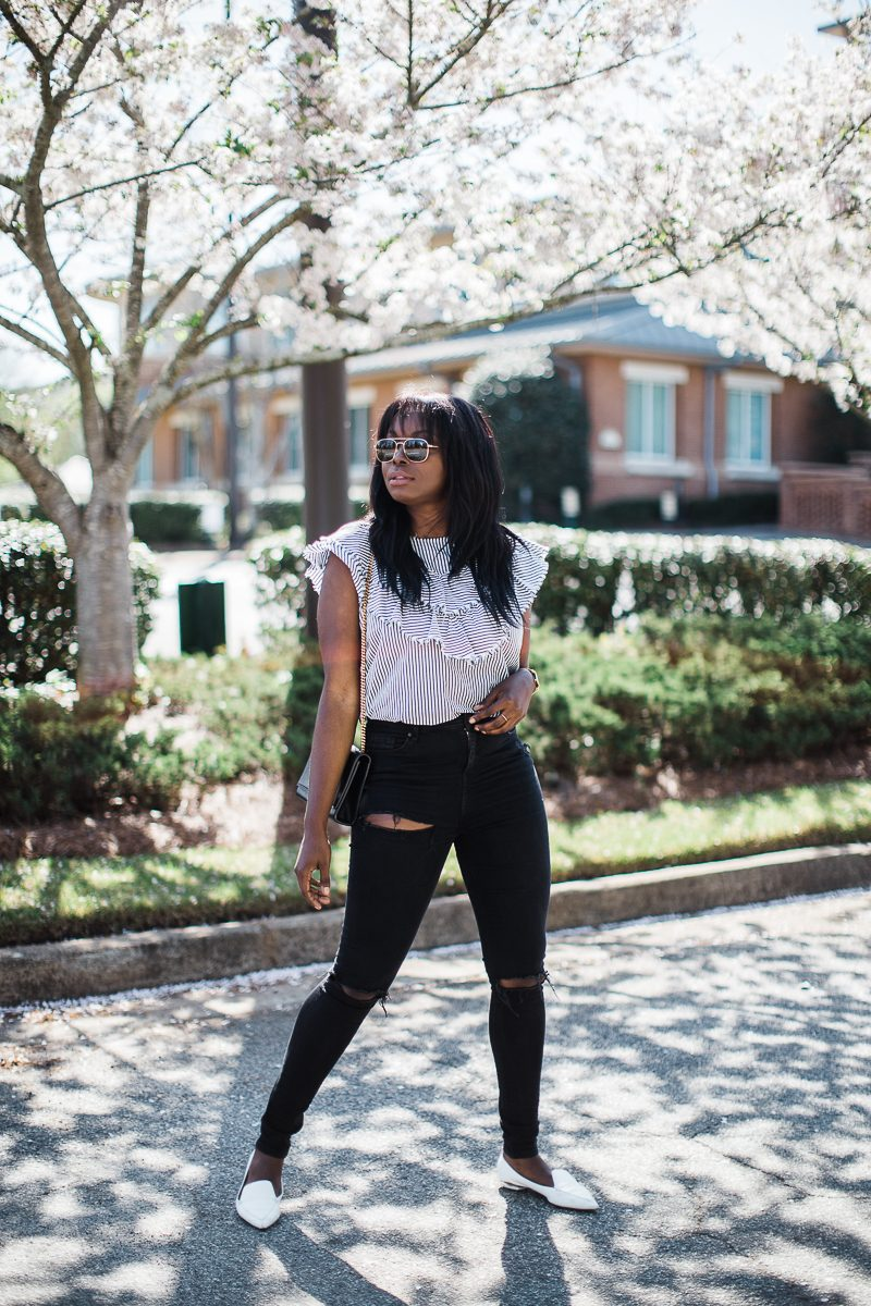 How To Style Ruffles   MILLENNIELLE