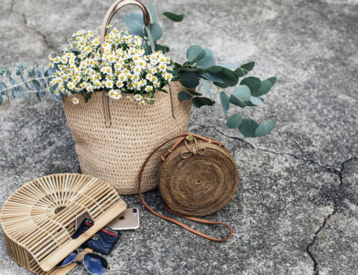 The Best Straw, Wicker, Bamboo, Raffia, Ragan Bags - Shop the Bamboo Bag Trend - Cult Gaia - Bali Basket Bag - MILLENNIELLE Fashion Blog